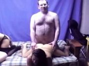 Video couple amateur à la maison